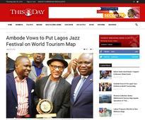 Ambode Vows to Put Lagos Jazz Festival on World Tourism Map