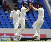 Umesh, Shami put India on top vs Windies at stumps on Day 3