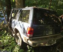 Pennsylvania driver spent three days with girlfriend's dead body after SUV crash