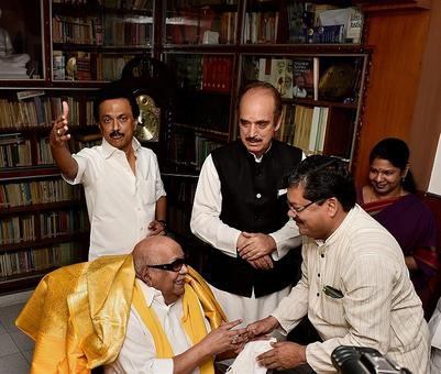 TV channels have taken money, DMK will win, say party workers