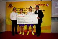 Fuji Xerox awards Singapore Badminton Association S$35,000 in sponsorship