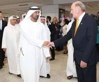 Royal salute: H.H Sheikh Ahmed opens Concourse D at Dubai International