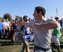 Padraig Harrington: Rory McIlroy was genuinely going in over the ropes to get at Ryder Cup heckler