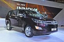 New Toyota Innova Crysta 2016 Exterior and Interior images