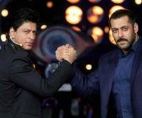 Shah Rukh and Salman's showbiz camaraderie