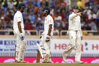 Live Score: Pujara, Saha drvie India in Ranchi Test