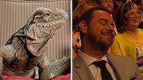 Danny Dyer trolled by BBC Planet Earth iguana over TV Baftas awards loss