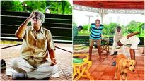 Putting the Yo in Yoga: Elderly businessman teaches yoga under the open sky for free