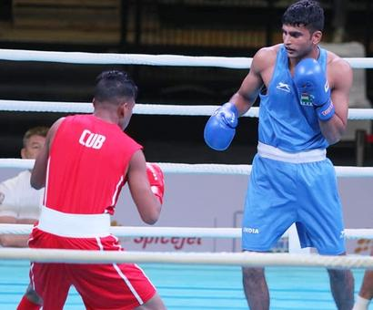 The farmer's son and India's big boxing hope