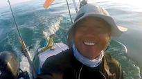 Kayaker saves life of lost iguana swimming four miles out to sea