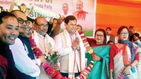 Manipur gets its first BJP government
