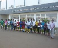Football Equipment for Aanuradhapura by SLFO UK