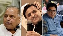SP split all but complete as Akhilesh camp goes to EC for poll symbol