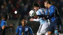 Messi exits with back injury ahead of Copa