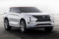 Triple play: Mitsubishi GT-PHEV concept revealed at Paris 2016