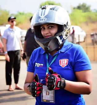 PIX: Mumbai's Jhanvi Rishad rev it up at Valley Run!