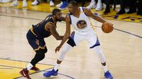 NBA Finals: Golden State Warriors' Kevin Durant snatches game one from Cleveland Cavaliers