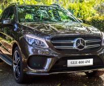 Mercedes-Benz GLE400 4MATIC Launched