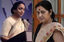 Sushma Swaraj blasts Meira Kumar for Lok Sabha snub; watch video