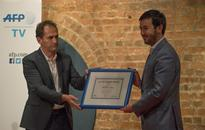 Afghan TV station targeted by Taliban wins AFP award