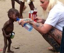 EXCLUSIVE: Woman Who Rescued 2yr old Nigerian Boy accused of witchcraft named MOST INSPIRING PERSON of  Year  2016 (VIDEO)