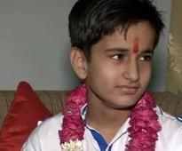 Jaipur: Meet Aabhas Sharma, 12-year-old who cleared Higher Secondary