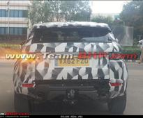 Range Rover Evoque XL spied in India
