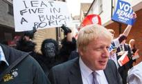Teen in gorilla suit 'punched in face' at Boris rally