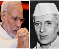 PM Modi pays tributes to Jawaharlal Nehru on his 53rd death anniversary
