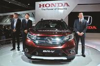 Honda unveils 7-seat BR-V1 at Auto Expo start; Fiat to debut Jeep by mid-year