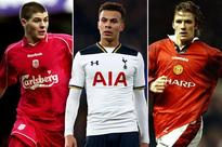 Dele Alli enjoying stronger start to Premier League career than David Beckham, Steven Gerrard or Frank Lampard did