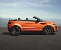 Convertible SUV Range Rover Evoque launched in India at Rs 6.95 million
