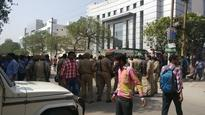 Noida: Protests at mobile company Oppo's office after Chinese national allegedly tears Indian flag