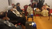 Sushma Swaraj calls on President, Prime Minister
