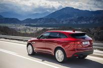 Jaguar F-Pace: Setting pace in upper SUV-segment, waiting on hybrid powertrain
