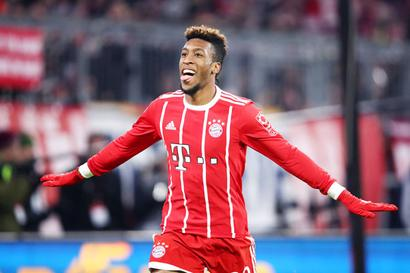 Football Briefs: Coman steers Bayern past Hanover, Dortmund held