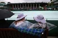 Sleep, sue, sing -- Wimbledon when it rains