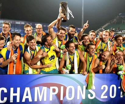 Clinical Australia beat Argentina to retain HWL Final title