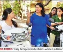 Mumbai's women scooter trainers in high gear