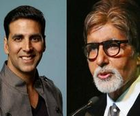 Akshay Kumar, Amitabh Bachchan co