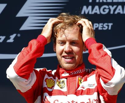 Chinese Grand Prix: Vettel snatches pole position in Ferrari one-two