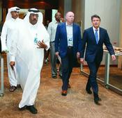 Expanding season beyond September can take Asi... Qatar Athletics Federation (QAF) President Dahlan Al Hamad (left) is seen wa...