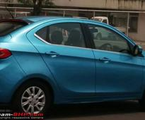 Tata Kite 5: Tiago Compact Sedan Production Version Spotted