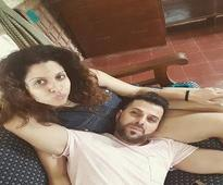 Tanaaz and Bakhtiyaar Irani spend time with each other while on a weekend getaway