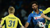 Sri Lankan spinner Senanayake penalised for Warner send-off