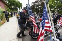 Vets on Harleys to bike Civil War Yankee's ashes from Oregon insane asylum back to Maine