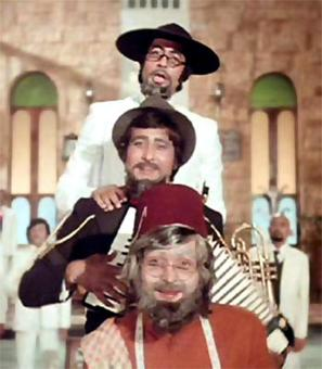 Amar Akbar Anthony was remade in which language?