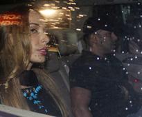 Salman Khan, Iulia Vantur's Party Night With Arpita and Khandaan