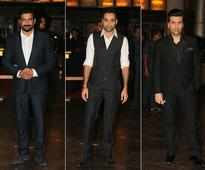 At Preity Zinta's Reception, Salman, Madhuri and Other Glam Guests