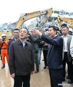 CPC official, State councilor inspect rescue work after south China landslide
